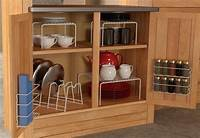 kitchen cabinet organizer 6 Piece Kitchen Cabinet Pantry Shelf Organizer - Door ...