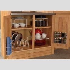 6 Piece Kitchen Cabinet Pantry Shelf Organizer  Door