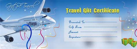 travel gift voucher certificate template execl template