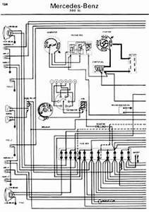 mercedes benz 300sl 1962 1970 wiring diagrams online With k7 wiring diagram