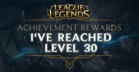 achievement rewards league  legends
