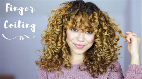 Finger Coiling For Perfect Spirals Curly & Wavy Hair