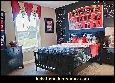 boys sports bedroom bedroom sports decorating ideas football bedroom 10939 | 0b62f63b694f9064bf088bcbbbfa083d