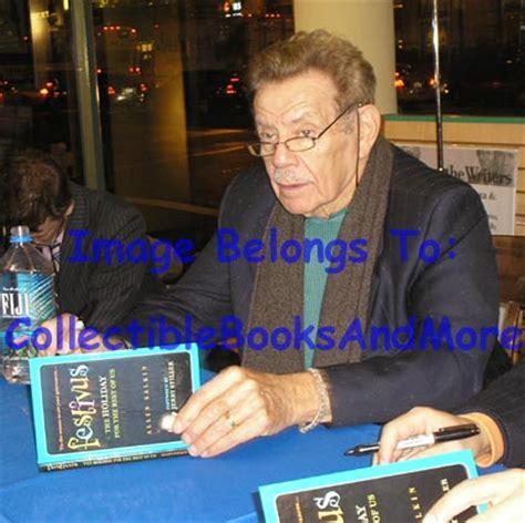 jerry stiller signed autographed festivus hc st edst