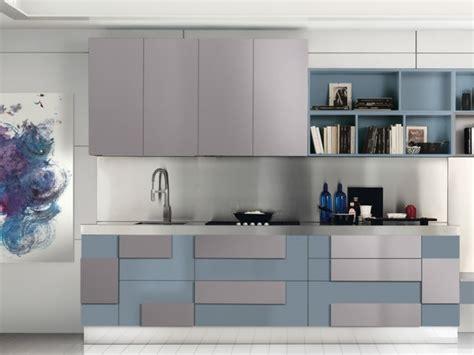 cuisine bleu gris 115 exemples de cuisines équipées et ultra modernes partie 1