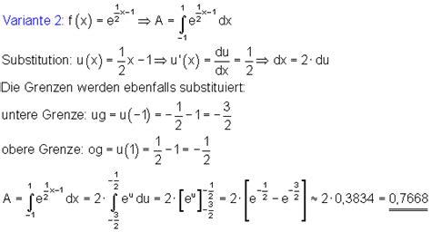 integration der  funktion mathe brinkmann