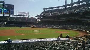 Citi Field Seating Chart With Row Numbers Citi Field Section 122 Rateyourseats Com