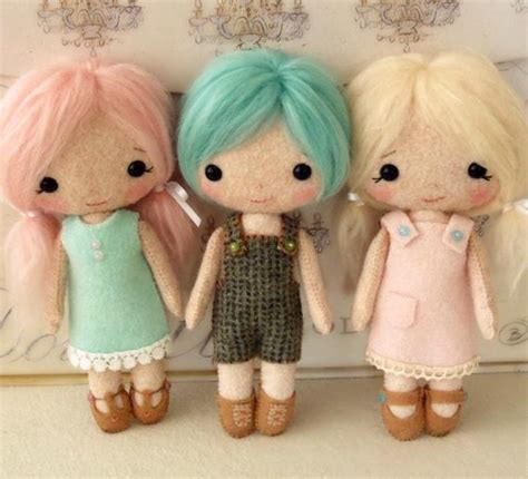 cotton candy dolls  pattern instant