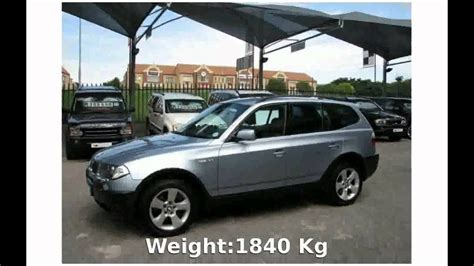 2003 Bmw X3 2.5i Automatic E83 Power Info Exhaust Engine