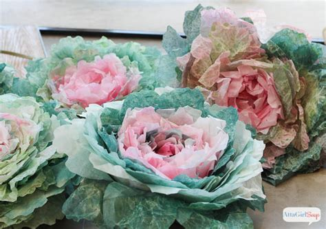The coffee industry today is littered with coffeemakers and accessories of all prices, shapes, and sizes. Coffee Filter Crafts: DIY Spring Cabbages - Atta Girl Says