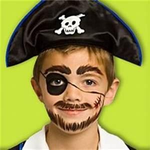 Maquillage Pirate Halloween : un maquillage simple et rapide pour tre le plus beau ~ Nature-et-papiers.com Idées de Décoration