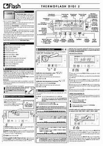 Multimetre Digital Mode D Emploi : mode d 39 emploi flash thermoflash digi 2 autres trouver ~ Dailycaller-alerts.com Idées de Décoration