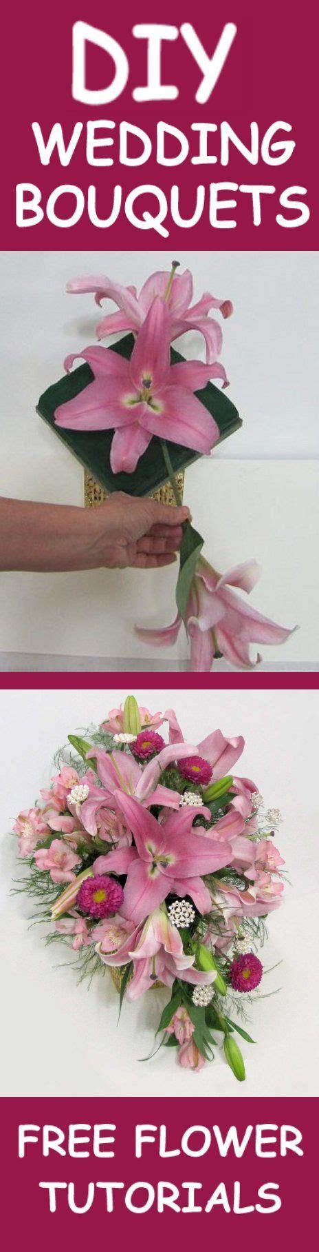 wedding flower bouquets easy diy flower
