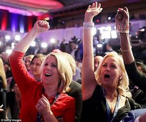Hillary Clinton supporters' party goes flat as US election ...