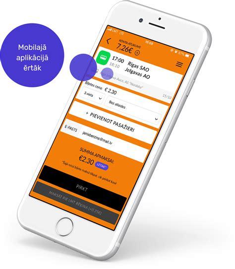 Starppilsētu autobusu saraksts un biļetes bez rindas   Mobilly
