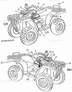 Polaris Atv 1997 Oem Parts Diagram For Decals Magnum 4x4