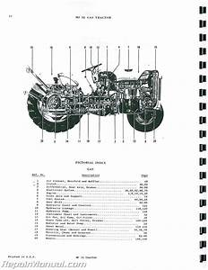 Massey Ferguson Mf 35 Gas Diesel Tractor Parts Manual
