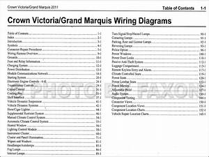 Crown Victoria 2011 Wiring Diagram