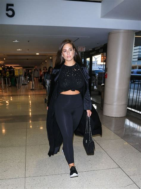 Ashley Graham Wore the Leggings and Sneakers Combo Every Model Loves | My Style | Pinterest ...