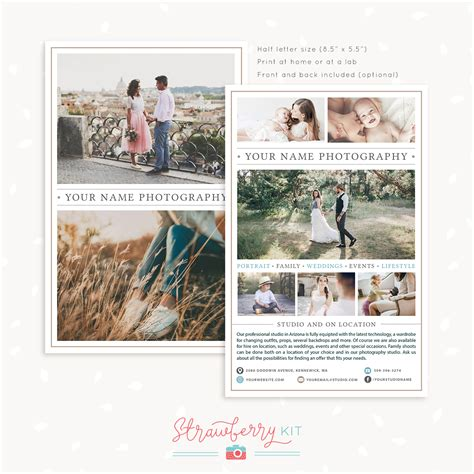 Brochure Template Size by Letter Size Brochure Template Images Wedding Theme