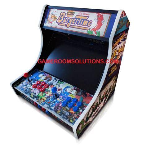 Bartop Arcade Kit Deluxe   Cam Lock, Graphics, Control Kit