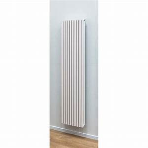 Radiateur Largeur 50 Cm : radiateurs d coratifs banio xander couleur blanc hauteur ~ Premium-room.com Idées de Décoration