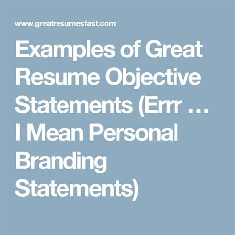 Great Resume Branding Statements by 25 Best Ideas About Personal Brand Statement On Business Mission Statement