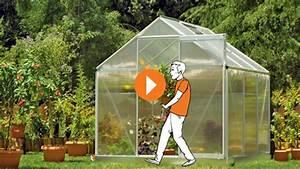 Kleines Gewächshaus Selber Bauen : gew chshaus bauen erkl rvideo obi ~ Michelbontemps.com Haus und Dekorationen