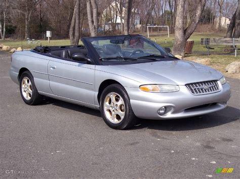 2000 Chrysler Sebring Jxi by 2000 Bright Silver Metallic Chrysler Sebring Jxi Limited