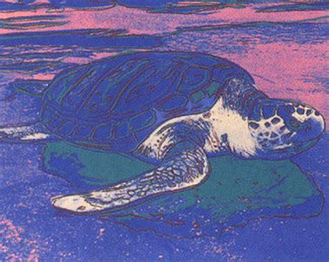 sea turtle  andy warhol guy hepner