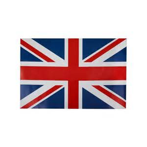 vaisselle mariage set de table angleterre drapeau anglais les 6