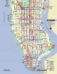 Plan De Manhattan : le bus et le m tro volont le bon plan transport new ~ Melissatoandfro.com Idées de Décoration