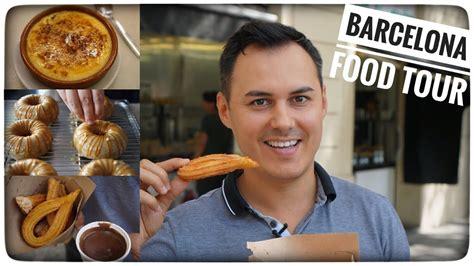 hervé cuisine donuts tour culinaire à barcelone churros crème catalane