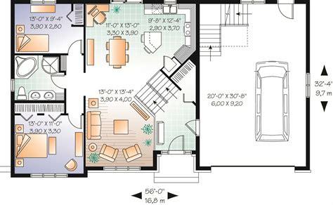 multi level home plans split level multi level house plan 2136 sq ft home plan