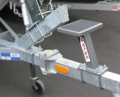 Boat Trailer Step Platform by Boat Trailer Tongue Ladder Pictures To Pin On Pinterest