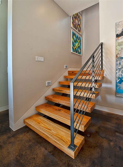 oak dining table stair railing ideas staircase contemporary with accent
