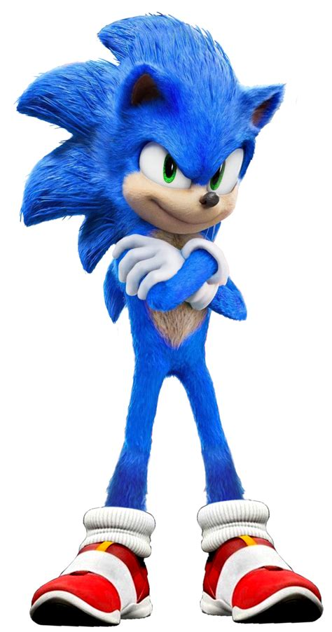 Sonic the Hedgehog (Movie) (2) - PNG by Captain-Kingsman16 ...