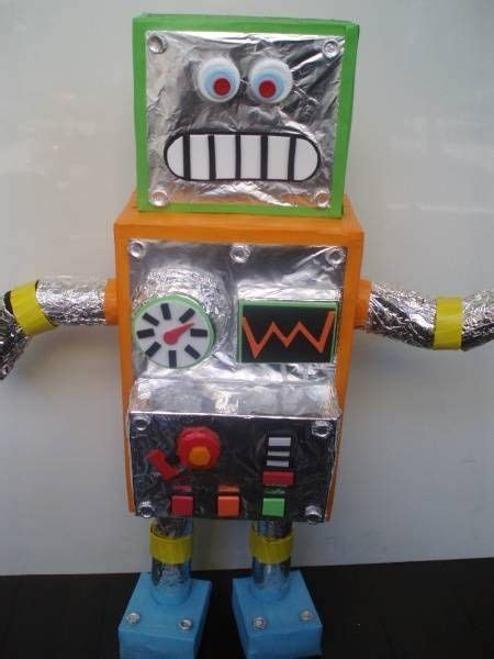 23 best images about robots on 523 | 4c429689a6344a7d64bb5f1020178b55 preschool projects crafts for kids