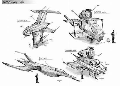 Concept Thumbnailing Sketches Sketching Thumbnail Ship Process