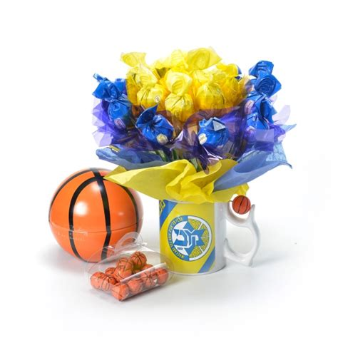 כדורסל יורוליג 2020/21 מחזור 34 מכבי תל אביב כדורסל - כמה פשוט להזמין זר מתוקים