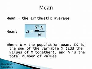 Mean, Median, and Mode - Introductory Statistics