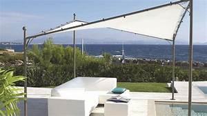 Pare Soleil Balcon : toile solaire terrasse toile d ombrage rectangulaire ~ Edinachiropracticcenter.com Idées de Décoration