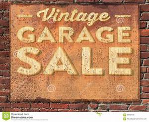 Garage Sale Sign stock photo. Image of yard, house, brick ...