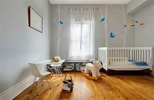 La chambre bebe en 15 exemples inspirants for Affiche chambre bébé avec elixir floraux
