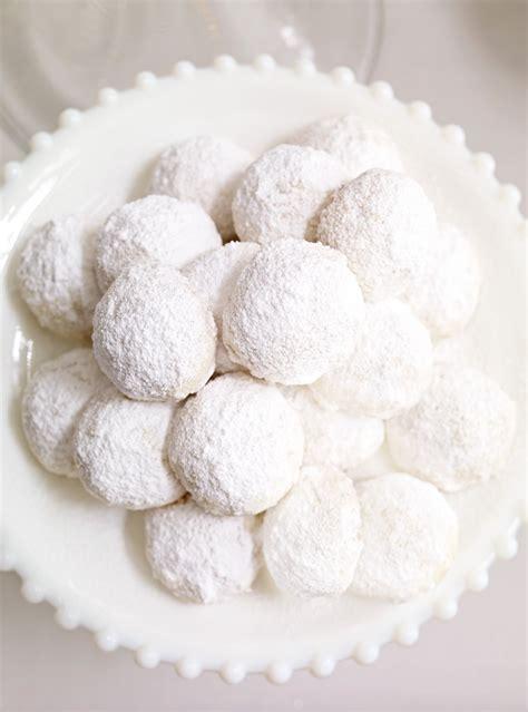 biscuits boule de neige aux amandes ricardo