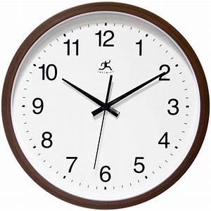 Walnut, Finish, Wall, Clock, By, Infinity, Instruments