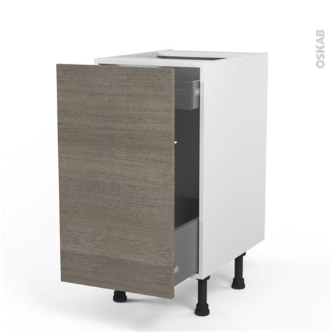 meuble de cuisine bas coulissant stilo noyer naturel 1
