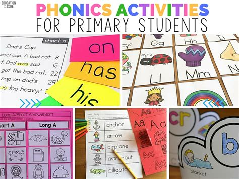 phonics worksheets for elementary students elementary blogs education to the