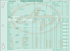 Vehicle Inventory Records