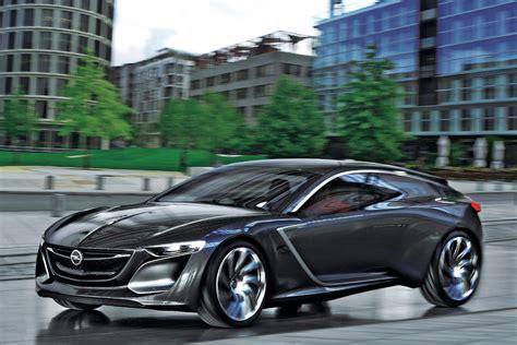 vauxhall opel vauxhall opel monza concept driven auto express